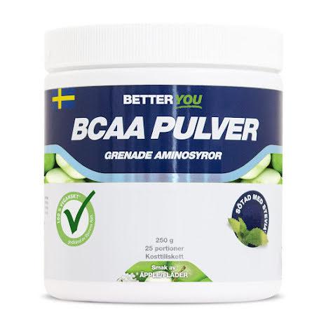 Better You BCAA 250g - Äpple/Fläder