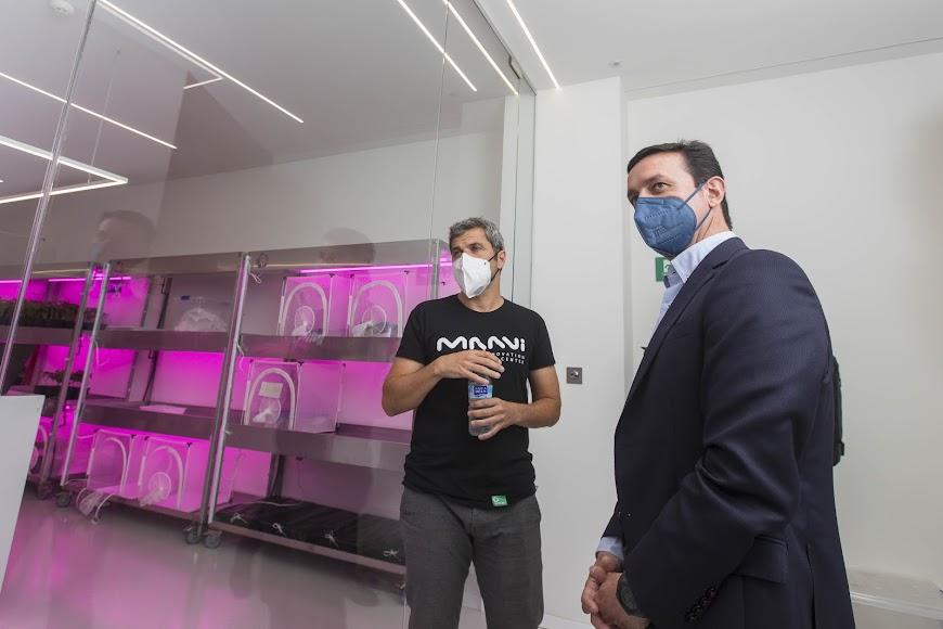 El presidente de la Diputación ha visitado las instalaciones.