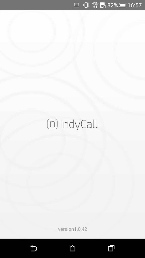 IndyCall - Free calls to India- screenshot