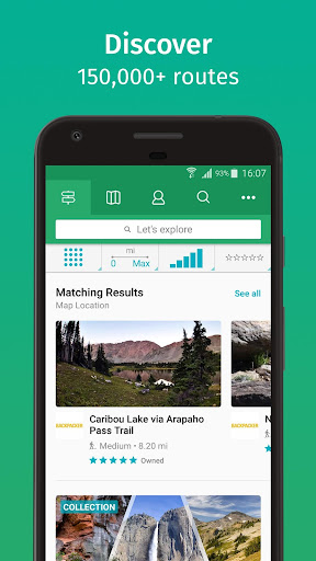 ViewRanger: Trail Maps for Hiking, Biking, Skiing 10.1.40 screenshots 1