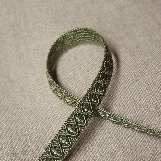 Möbelband - ljusgrön