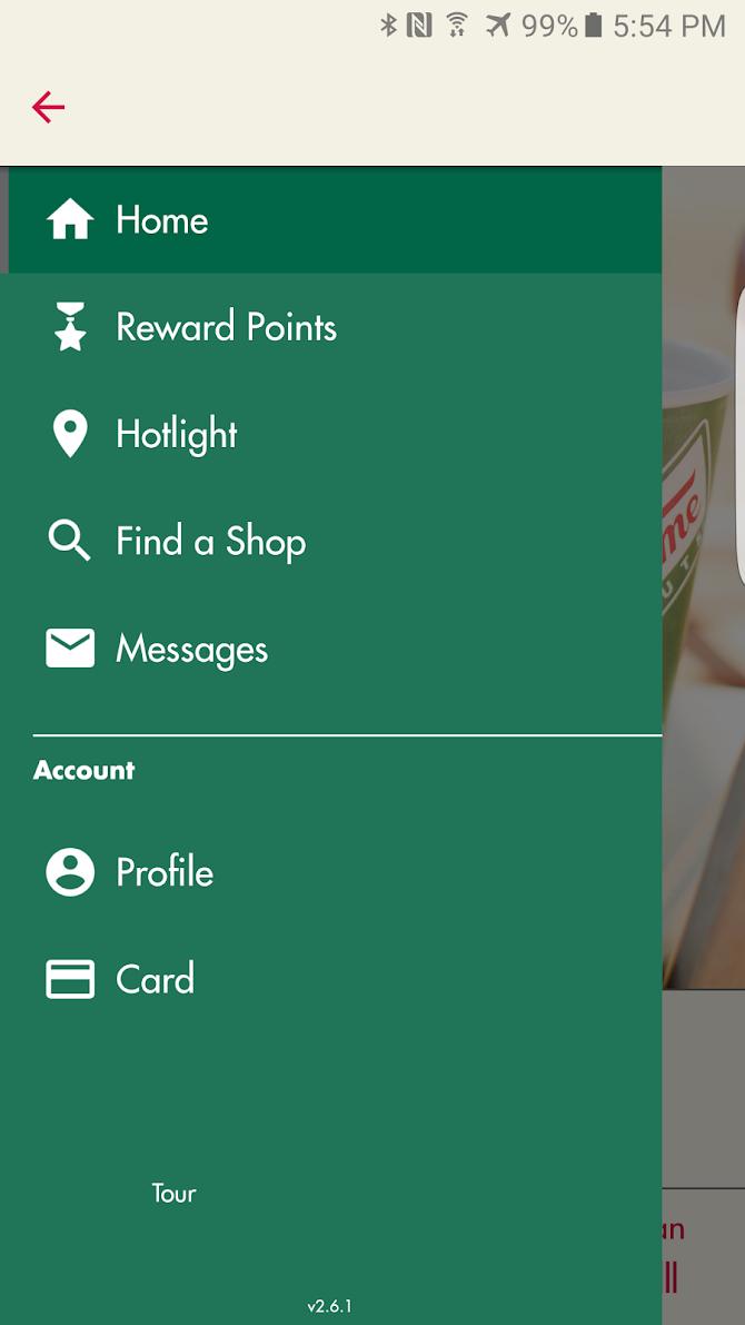 Krispy Kreme Android 5