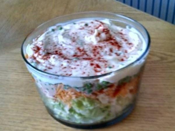 My Layer Salad Recipe