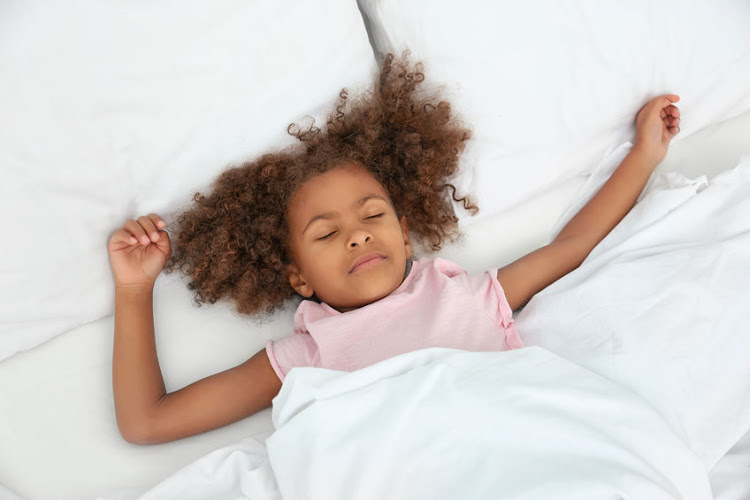 The American Academy of Pediatrics recommends that children 6 to 12 years of age should sleep 9 to 12 hours per day.