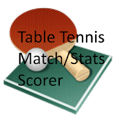 Table Tennis Match/Stat Scorer