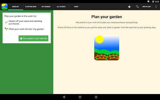 Screenshot for Gardenate in United States Play Store