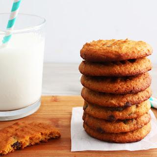 Sweet potato-Almond Gluten Free Chocolate Chip Cookies