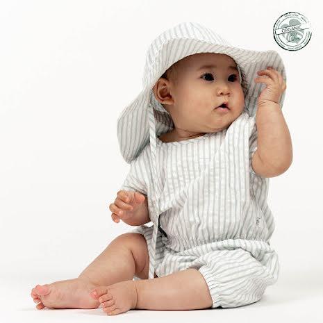 Gash - Randig heldräkt till baby