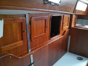 Photo: pilot berth cabinet facade by previous owner