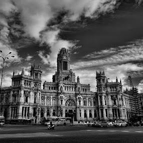 Ayuntamiento... by Luis Orchevecs Ferenczi - Black & White Buildings & Architecture