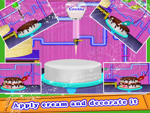 Wedding Cake Maker Factory  screenshots 22