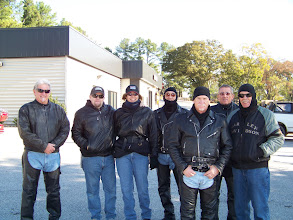 Photo: We're Not Gonna Let A Little Steenkin' Chilly Weather Stop Us From Riding Today!