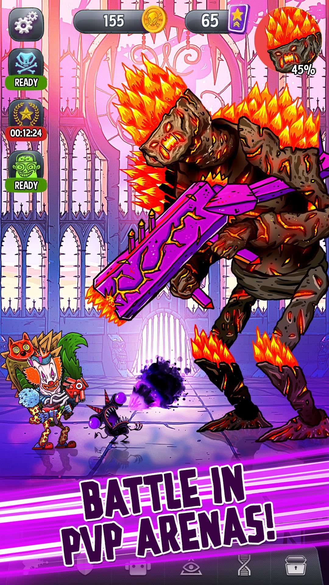 Tap Busters: Galaxy Heroes screenshot #2