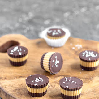Salted Chocolate Peanut Butter Cups.
