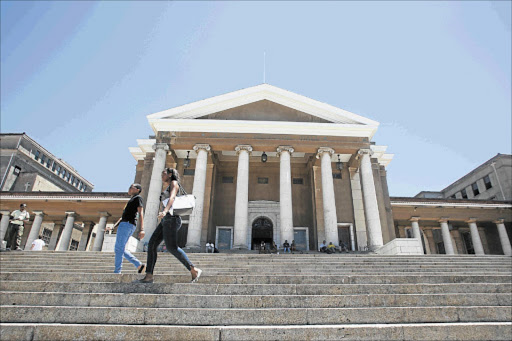 The University of Cape Town Picture: FILE