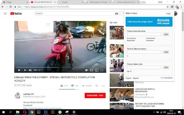 Video Eraser for Youtube