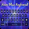 Neon Blue Keyboard APK