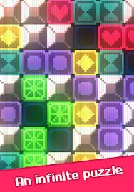 Glow Grid - Retro Puzzle Game Screenshot 1
