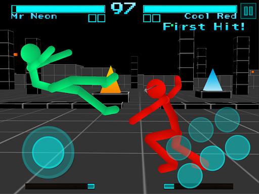 Stickman Fighting: Neon Warriors 1.05 screenshots 6