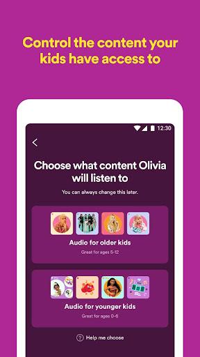 Spotify Kids screenshot 2