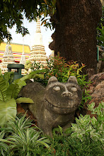 Photo: Stone mound creature at Wat Pho, Bangkok