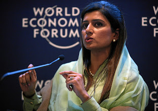 Photo: DAVOS/SWITZERLAND, 26JAN12 - Hina Rabbani Khar, Minister of Foreign Affairs of Pakistan is captured during the session 'The Future of South Asia' at the Annual Meeting 2012 of the World Economic Forum in the congress center in Davos, Switzerland, January 26, 2012.  Copyright by World Economic Forum swiss-image.ch/Photo by Remy Steinegger