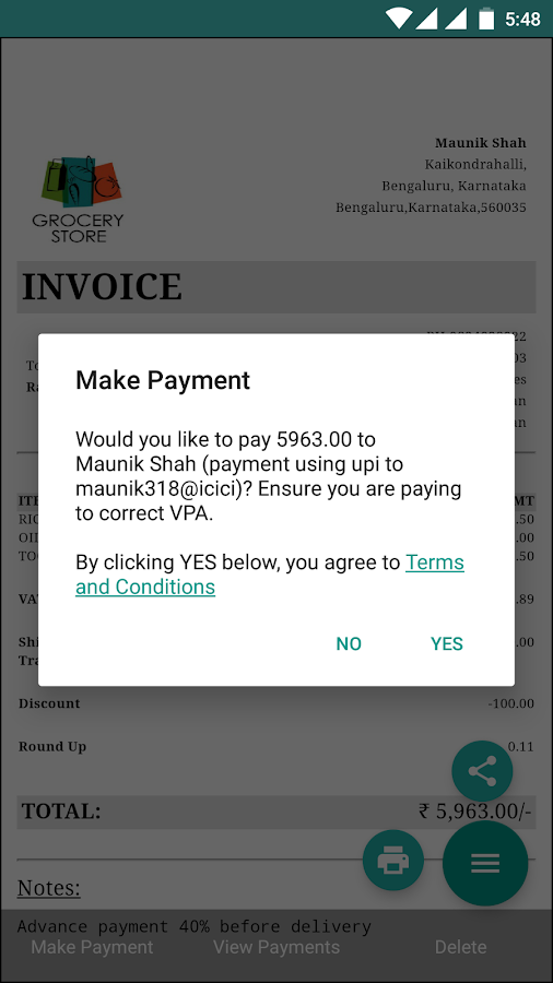 Nice Invoice Template Word Billing Software  Gst Invoices Fast And Easy  Android Apps On  Acura Ilx Invoice with Receipt Of Sale Of Vehicle Excel Billing Software  Gst Invoices Fast And Easy Screenshot Medical Invoicing Pdf