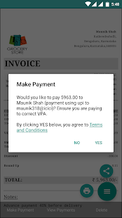 Invoices And Billing Software Downloads Apps On Google Play - Courier invoice format excel american girl doll store online