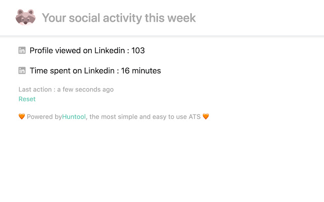 Social Analytics by Huntool