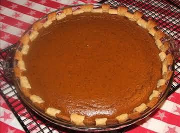 Better Than Libby's Pumpkin Pie! Sshhh! hehe