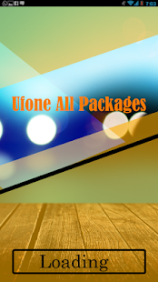Ufone All Packages - náhled