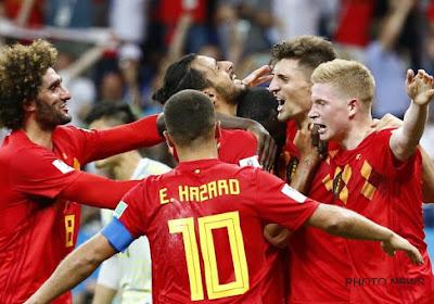 Voici les onze Diables qui défient le Brésil ce soir!