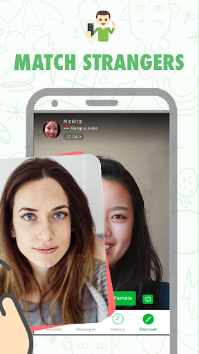 Pally Live Video Chat & Talk to Strangers for Free 0.94 screenshots 2