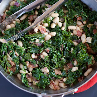 Kale With Bacon And Cannellini Beans Recipes