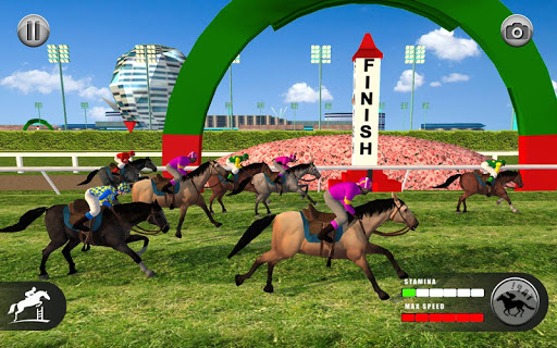 Horse Racing Games 2020: Derby Riding Race 3d apkpoly screenshots 24