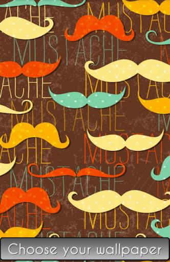 Mustache Wallpaper HD