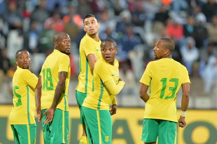 Bafana Bafana players. File photo.