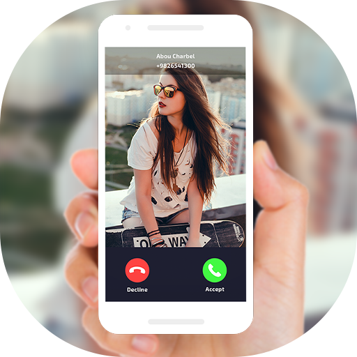 Full Screen Caller ID, Call Blocker & Recorder Icon