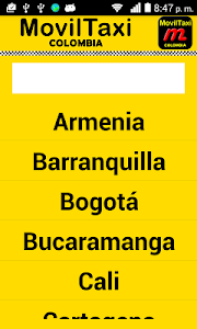 MovilTaxi Colombia screenshot 0