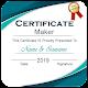 Certificate Maker : Custom Certificate Design Download on Windows