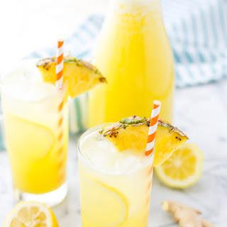 Pineapple Ginger Lemonade Recipe