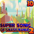 super sonic of smash bros & adventure world island