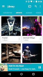 Shuttle Music Player Screenshot 1