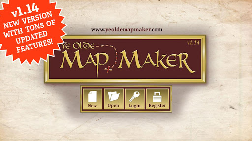 Screenshot for Ye Olde Map Maker in United States Play Store