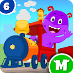 My Monster Town - Toy Train Games for Kids 1