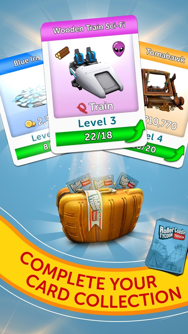 RollerCoaster Tycoon Touch Screenshot 3