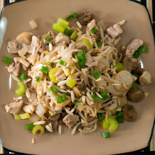 Slow Cooker Americanized Chicken Chop Suey