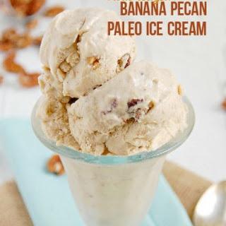 Caramelized Banana Pecan Paleo Ice Cream