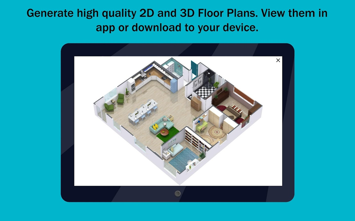 Roomsketcher home designer android apps on google play Floor plan maker app