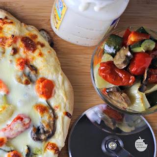 Roasted Vegetable Pizza